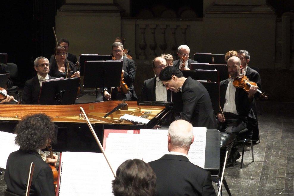Delord al concerto di Ezio Bosso, Comunale di Bologna