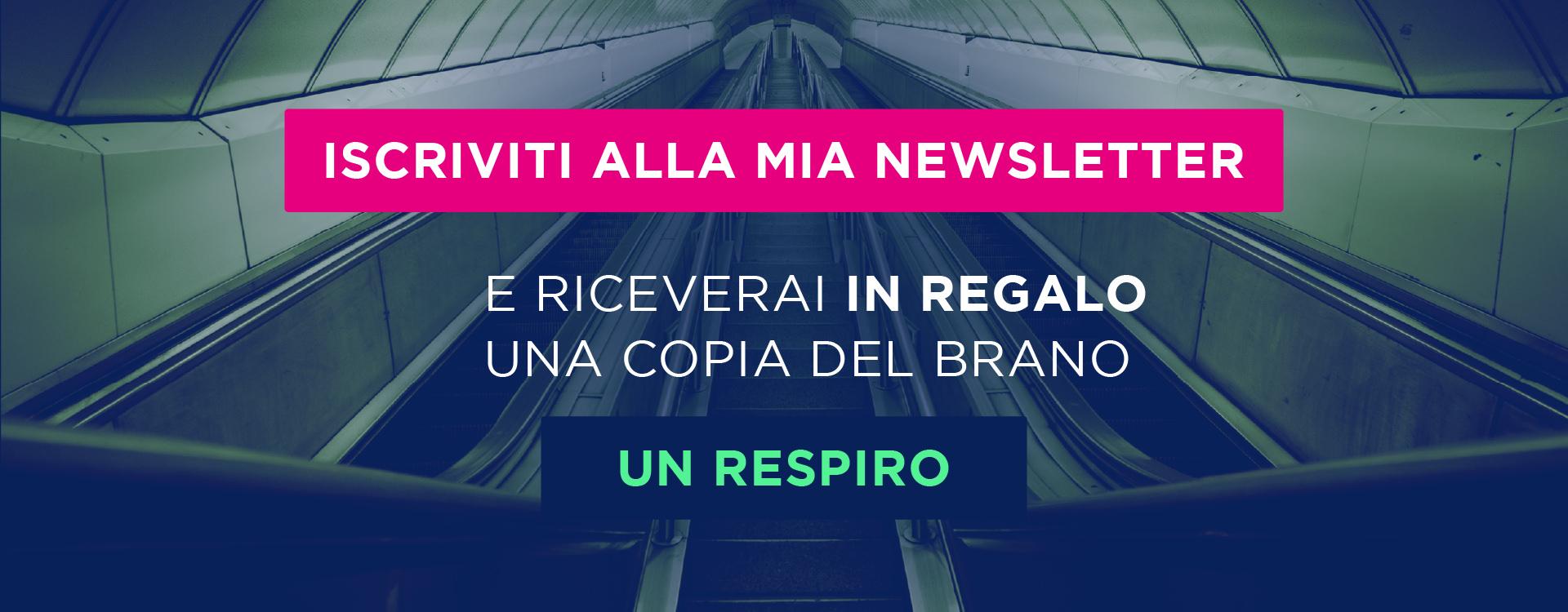 Banner newsletter italiano